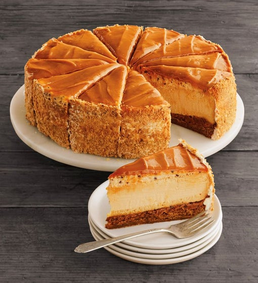 The Cheesecake Factory® Salted Caramel Cheesecake - 10