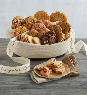 Congratulations Cookie Basket