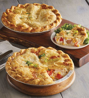Lobster Pot Pie Duo