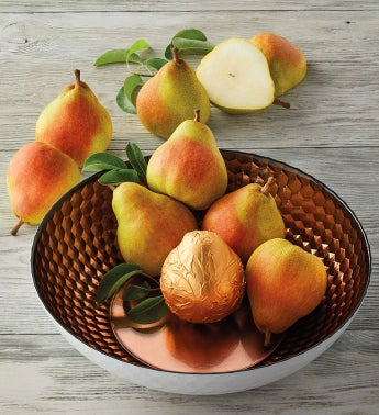 Royal Riviera® Pears with Fruit Bowl