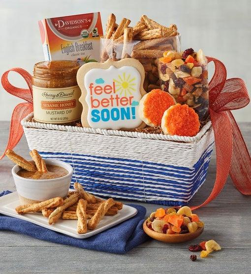 """""""Feel Better"""" Gift Basket"""