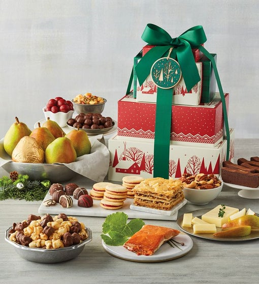 Tower of Treats® Grand Holiday Gift