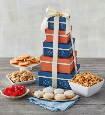 Summer Tower of Sweet Treats