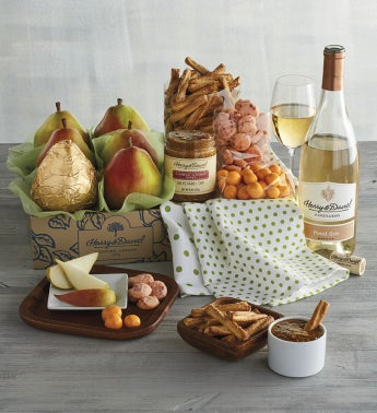 Deluxe Spring Gift Box with Wine