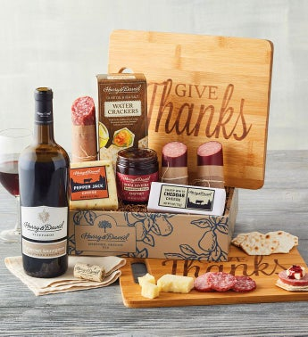 Autumn Meat and Cheese Gift with Wine