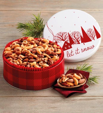 Grand Holiday Mixed Nuts Tin