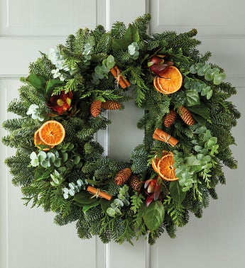 Cinnamon and Citrus Wreath