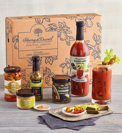 Bloody Mary Kit and Garnishes
