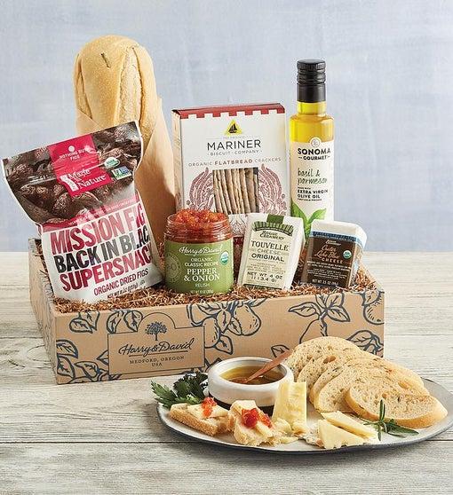 Organic Savory Snacks Gift Box