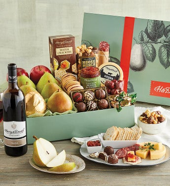 New Year39s Founders39 Favorites Gift Box with Wine