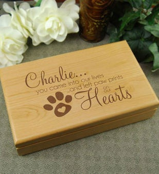 Pet In Our Life Keepsake Box