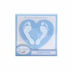 Footprint Dot Canvas Frame
