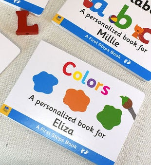 Personalized Learning Colors Board Book