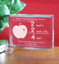 Engraved 2 Touch A Life 4-Ever Keepsake