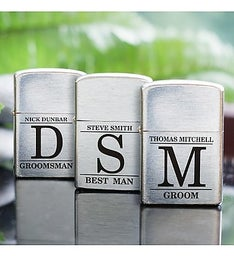 Personalized Groomsmen Lighter