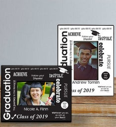 Follow Your Dreams Personalized Graduation Frame