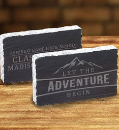 Personalized Let The Adventure Begin Keepsake
