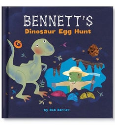 My Dinosaur Egg Hunt Personalized Storybook