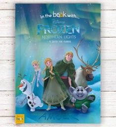 Personalized Frozen Northern Lights Storybook