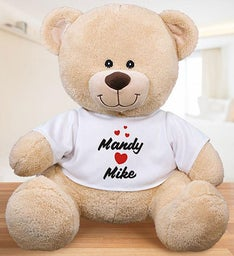 Personalized Valentines Bear