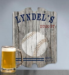 Personalized Man Cave Bar Sign