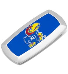 Kansas University Jayhawks Cushion Money Clip