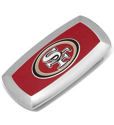 San Francisco 49ers Cushion Money Clip