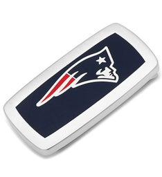 New England Patriots Cushion Money Clip