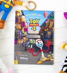 Personalized Toy Story 4 Book