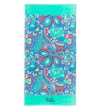 Personalized Island Bliss Towel