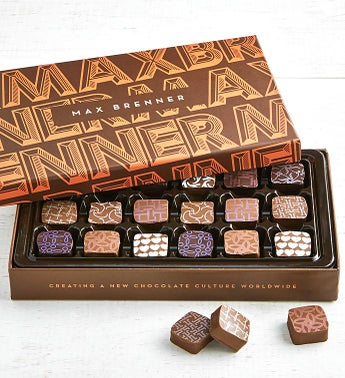 Max Brenner 18 Pc Chocolate Bon Bon Box