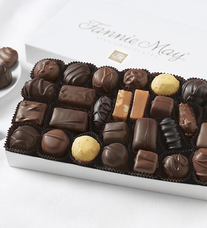 Fannie May® Milk & Dark Asst Chocolates