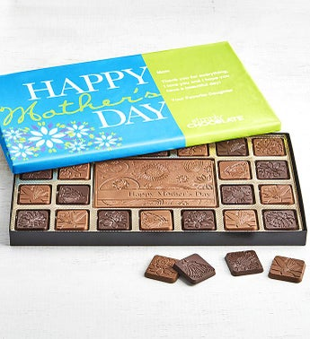 Simply Chocolate Mothers Day Personalized  Box