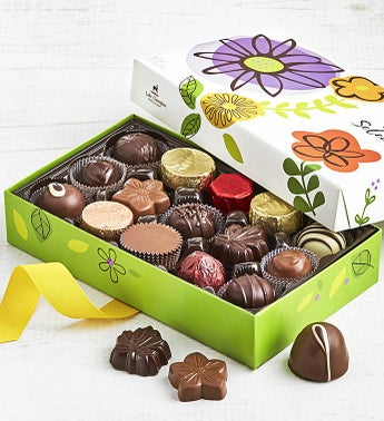 Lake Champlain Spring Chocolates Box 15 pc