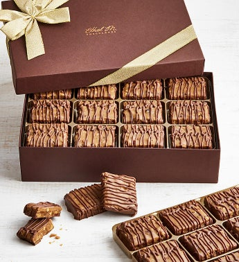Ethel M Chocolate Covered Pecan Brittle 24pc