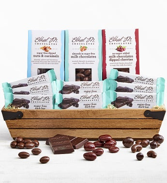 Ethel M Chocolates Sugar Free Gift Crate