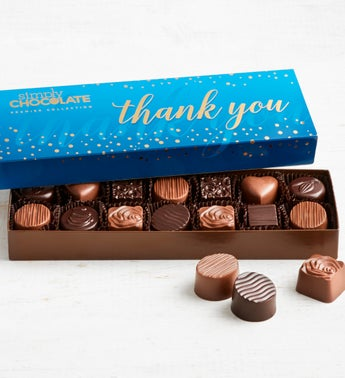 Simply Chocolate Thank You Premier Collection 14pc