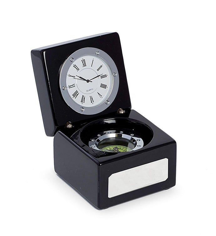 2 in 1 Clock  Compass