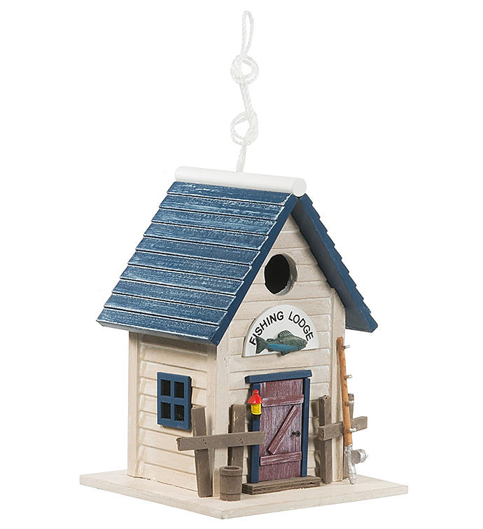 Fishing Lodge Birdhouse