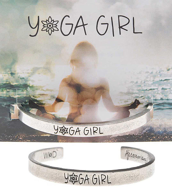 Yoga Girl Quotable Cuff