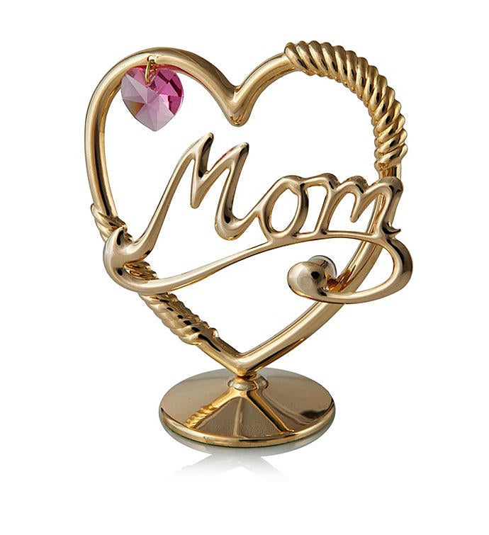 Mom In A Heart Ornament