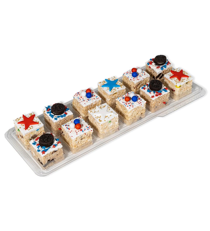 Patriotic Stars Gourmet Rice Krispie Treats