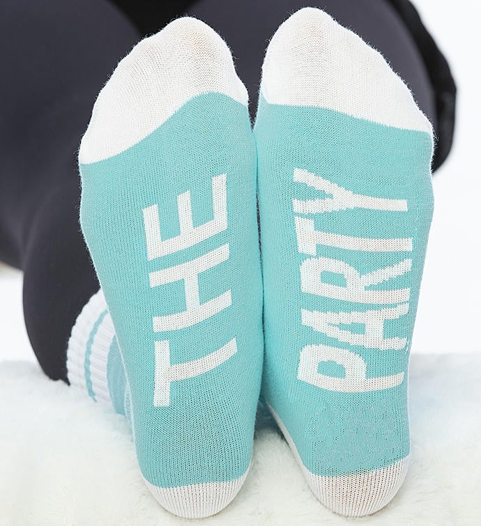 The Party Bridal Party Socks