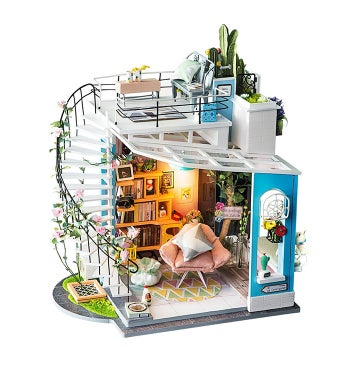 DIY 3d Dollhouse Kit - Dora's Loft