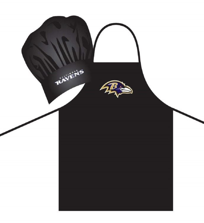 NFL Apron  Chef Hat Set