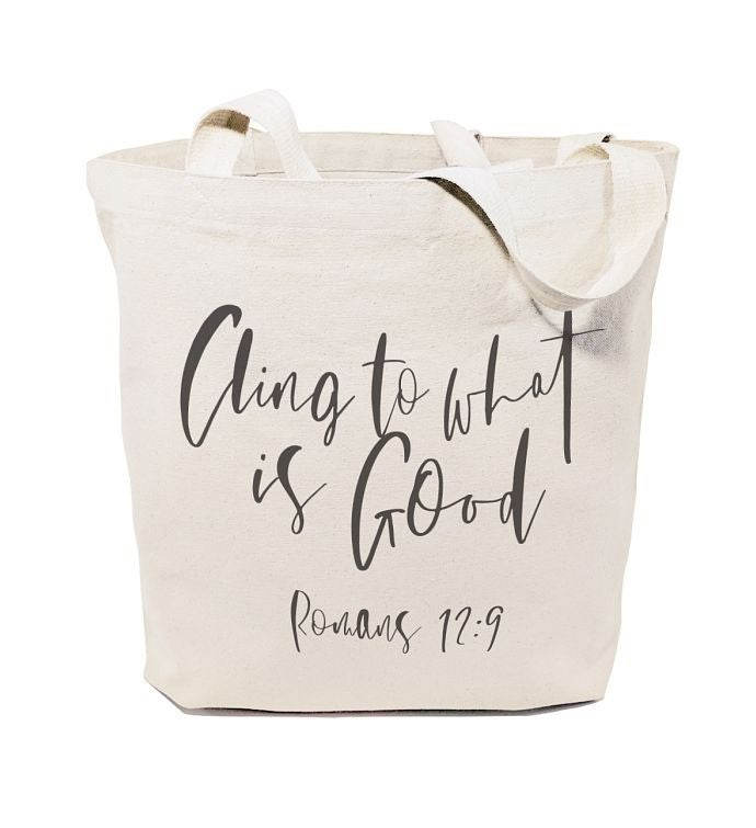 Bible Verse Reusable Shoulder Tote