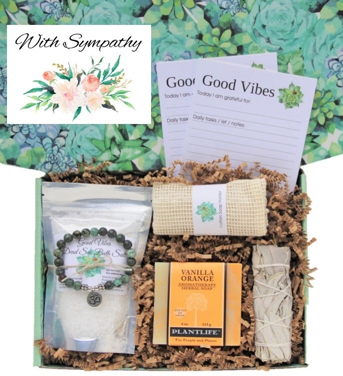 34With Sympathy34 Good Vibes Women39s Gift Box