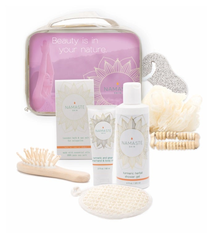 Namaste Home Spa Gift Set - Lavender 9 piece