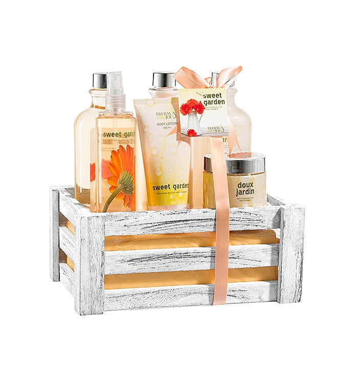 Sweet Garden Floral Bath Gift Set