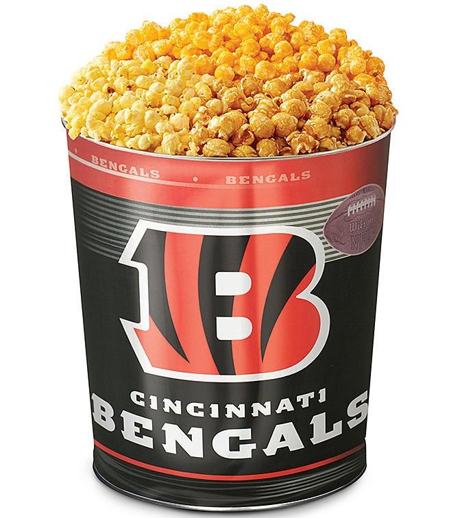 Cincinnati Bengals 3-Flavor Popcorn Tins